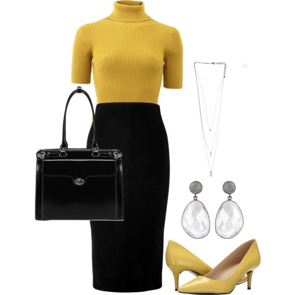 Day at Work by gracehundley on Polyvore featuring moda, 3.1 Phillip Lim, Victoria Beckham, Nine West, McKleinUSA, GetTheLook, WorkWear, contestentry and fashionset