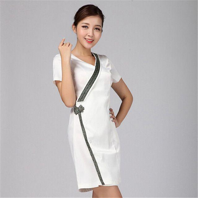 Uniformes ospedale nursing scrub medico abbigliamento camice da laboratorio/medico infermiere camici Medico/donne lavorano vestito da usura Thai tecnici