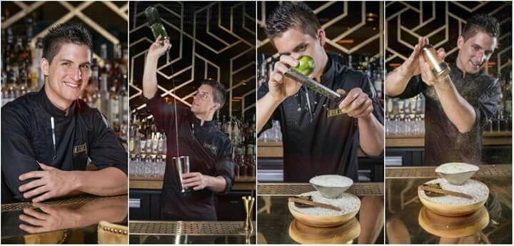 Salon du Chocolat  Paris 2016Kevin Ligot bar manager Manko a Paris  Fondateur de Mixomaniaparis