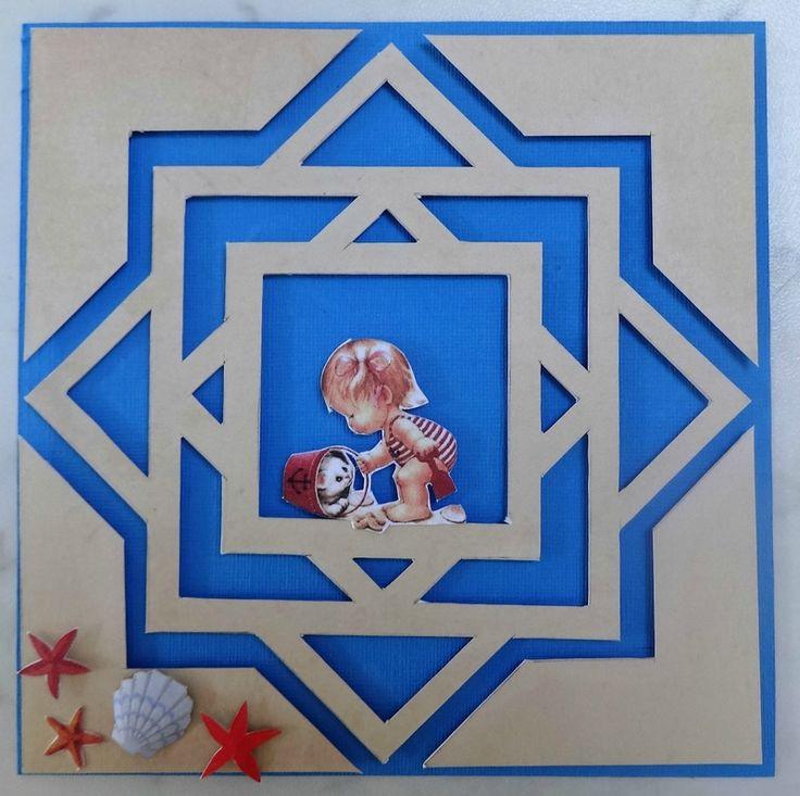 Kirigami, découpes symétriques