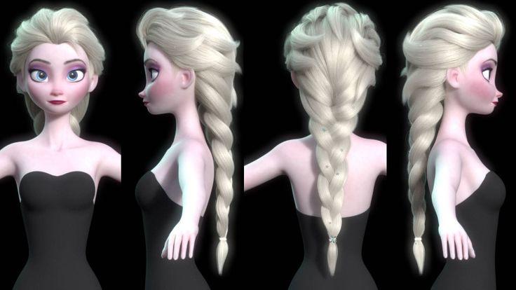 Making Of Disney's Elsa from Frozen by Alper Uzun