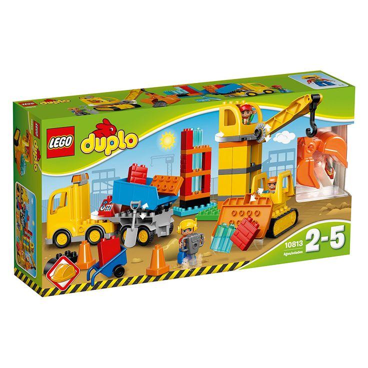 LEGO Duplo Big Construction Site 10813   Toys R Us Australia