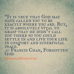francis chan quotes - Google Search