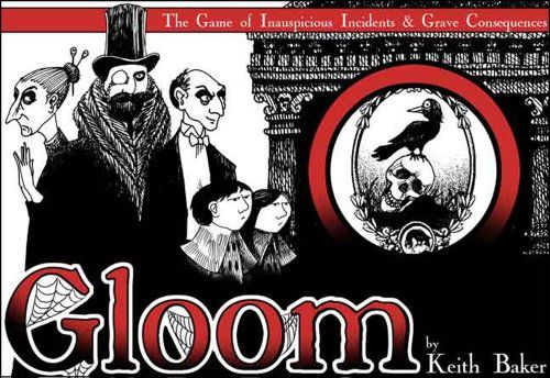 9 out of 10 http://boardgamegeek.com/boardgame/12692/gloom