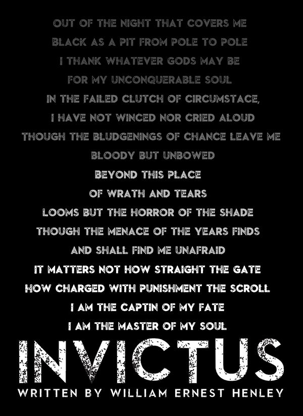 Image result for invictus poem