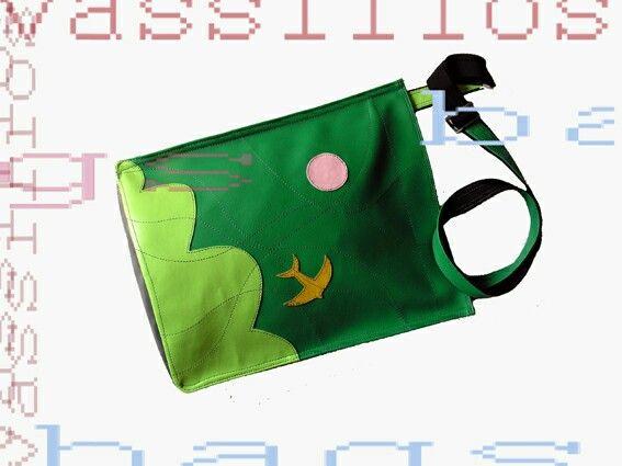 Leater handmade bag