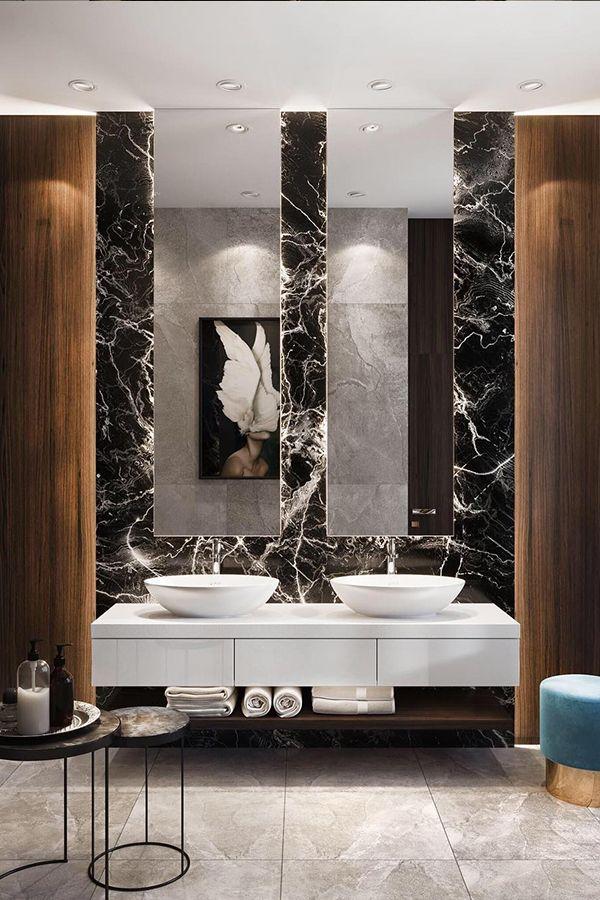The Best Interiors On Instagram Interior Design Inspiration Bathroom Interior Design Modern Master Bathroom Modern Bathroom Design