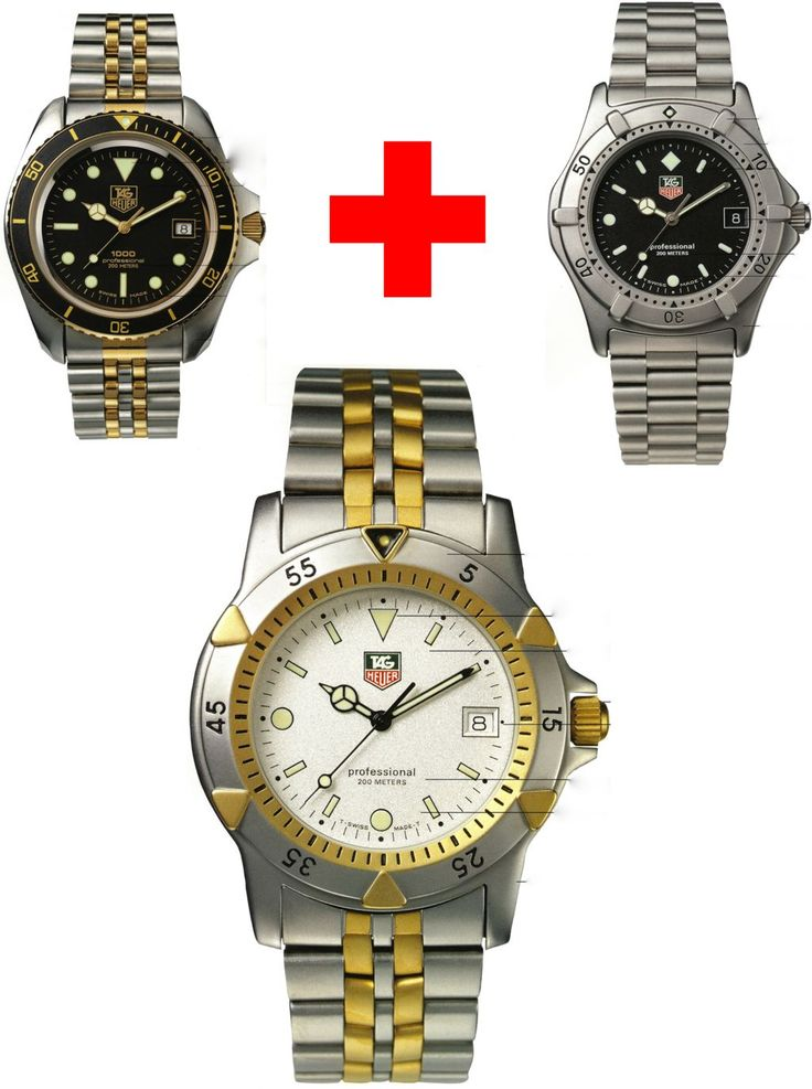 TAG Heuer 1000 2000 and 1500 Professional