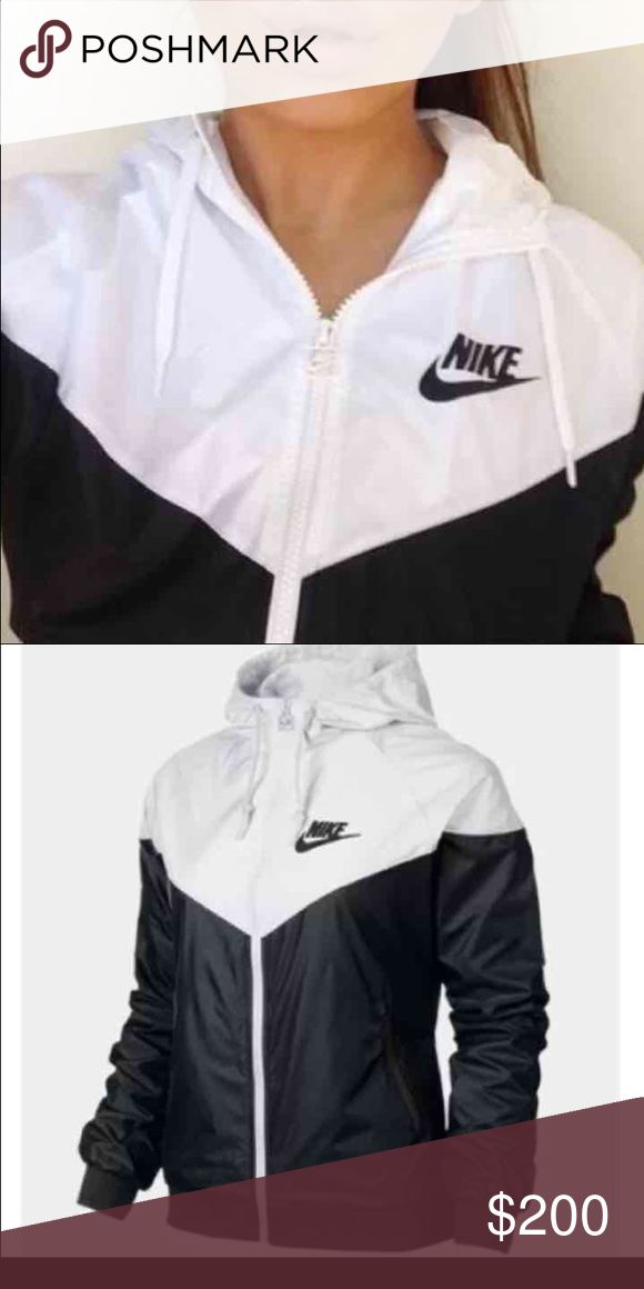 IN SEARCH OF Looking for a size small Nike wind breaker. Does not have to be black and white. Will buy immediately (: PINK Victoria's Secret Jackets & Coats