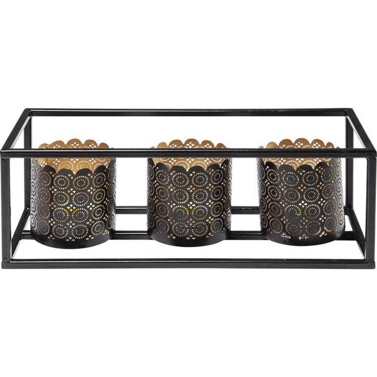 Das Teelichthalter Cordoba Frame Tre. Toller Dekoartikel der orientalisches Flair mit sich bringt.  Auch mit 4 Kerzen erhältlich. #teelicht #Licht #Kare #Kerzen #deko #dekoartikel #moebel #möbel #moebeltraeume #moebelpower #karedesign #kare