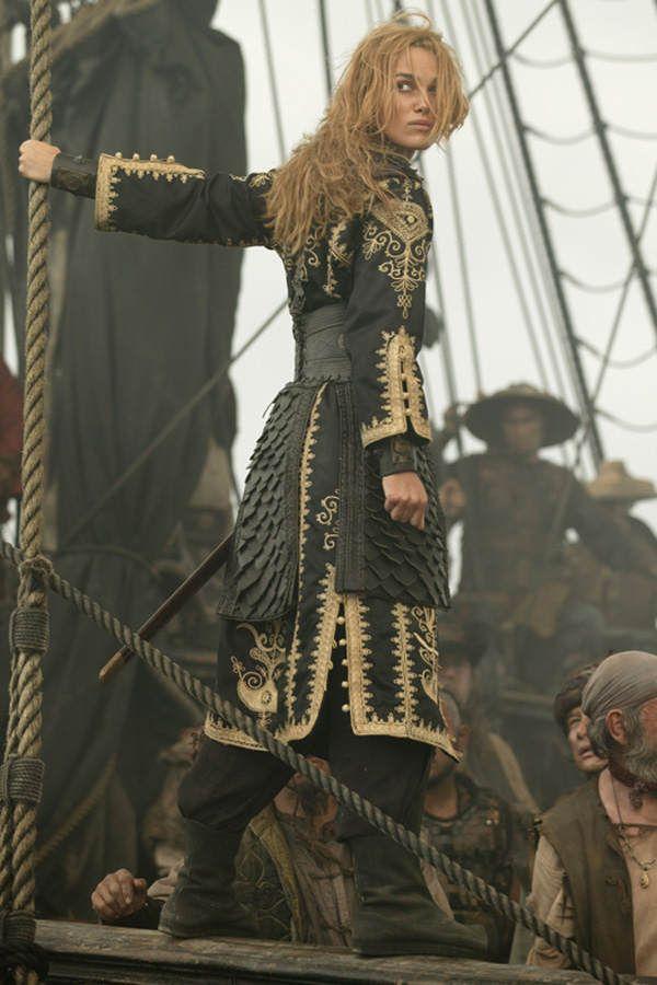 pirates of the caribbean keira knightley   Fluch der Karibik 3: Platz 11 - Bilder - Mädchen.de