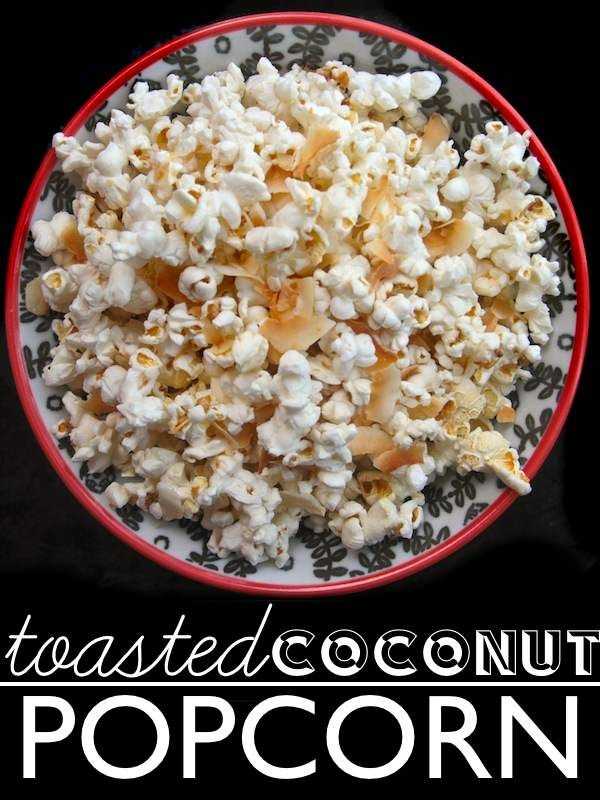 This Toasted Coconut Popcorn is so cool @Tracy Benjamin