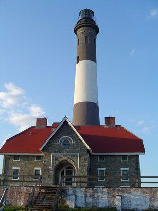 Fire Island Lighthouse - Long Island, NY (Haunted, they say.)