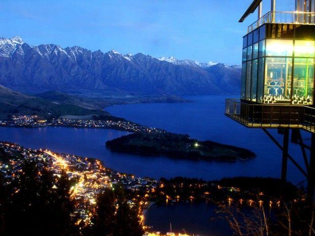 Skyline Restaurant - Queenstown, New Zealand