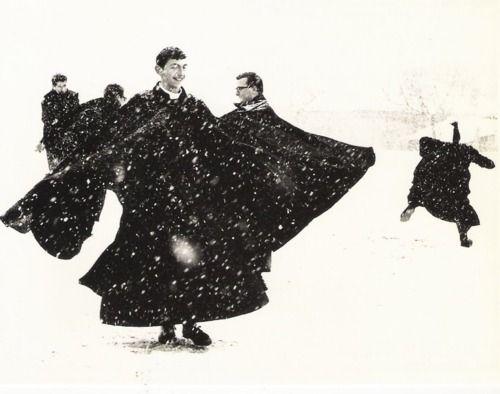 Mario Giacomelli - Dancing Priests