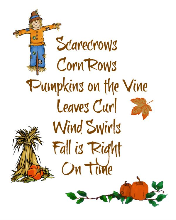 Image result for scarecrows, corn rows, pumpkins on the vine