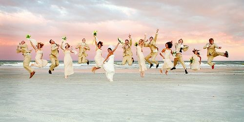 Countless jumping pics will be taken at my wedding.: Photos, Wedding Photography, Photo Ideas, Wedding Ideas, Pictures, Dream Wedding, Beach, Photography Ideas, Wedding Party