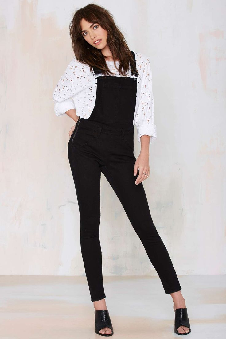 Overalls that make your butt look good? That's what's up. Cheap Monday Dungaree Skinny Overalls.