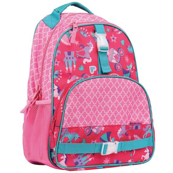 Stephen Joseph All Over Print Backpack Personalized. Dino Princess Butterfly Owl Sports Shark