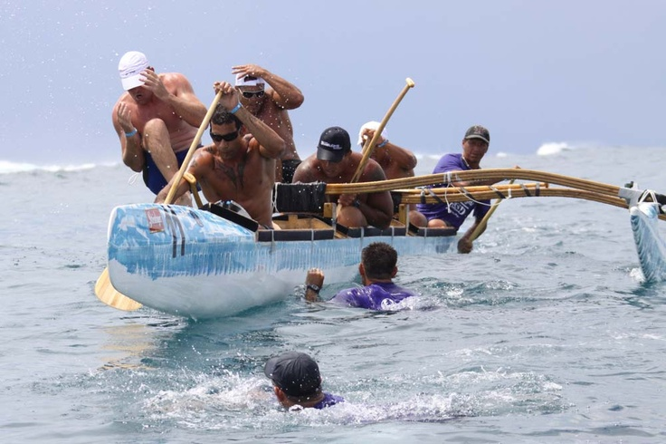 Excited for Vaka Eiva and the round Raro race.. Hopefully there'll be no sharks