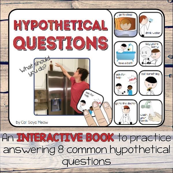 hypothetical questions interactive book