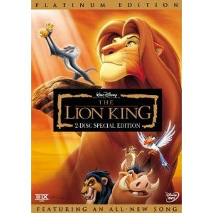 The Lion King (Two-Disc Platinum Edition) http://www.amazon.com/Lion-King-Two-Disc-Platinum/dp/B00003CXB4/ref=sr_1_49?s=movies-tv=UTF8=1346128854=1-49=the+little+mermaid