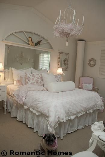 Shabby Chic Decorating Shabby: Rebecca Bosch Pink and White Décor :