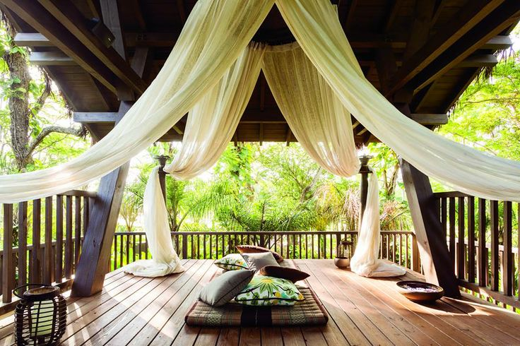 The Spa Botánico Treehouse Treatment Room ~ Dorado Beach ~ Ritz-Carlton Reserve