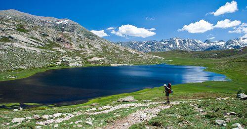 GR20 France, Corsica trek -- June 1, 2012, I'm ready