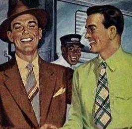 Herenmode jaren '50.
