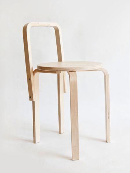 """Strafo"" > ""Frosta"" stool art hack, by Chiara Moreschi"