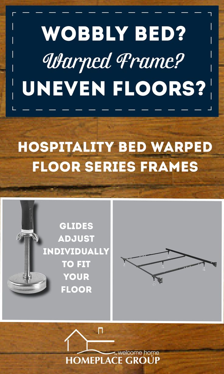 Great solution to old warped or uneven wood floors in the bedroom!  Comes in all sizes and available through Homeplace Group.