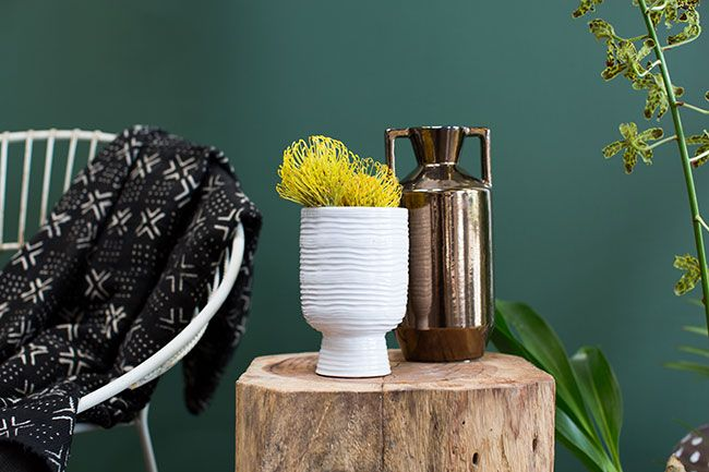 African-inspired wholesale vases from Accent Decor