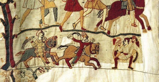 Ostor (Bayeux-i falikárpit) - Hagyomány és múltidéző