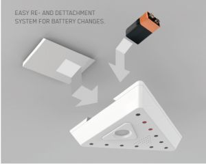 BRANDIS - smoke detector with special functions