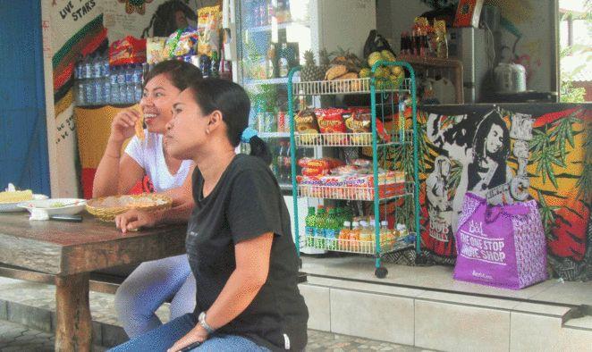 Warung Music Rasta Shop warungs in Lovina fresh produce markets cooking classes