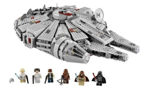 The LEGO Star Wars Millennium Falcon 7965 is a LEGO model replica of the famous spaceship from the original Star Wars Trilogy. Although the recommended age for this product is 9 – 14 years, this item is an excellent gift for any Star Wars or LEGO fan.