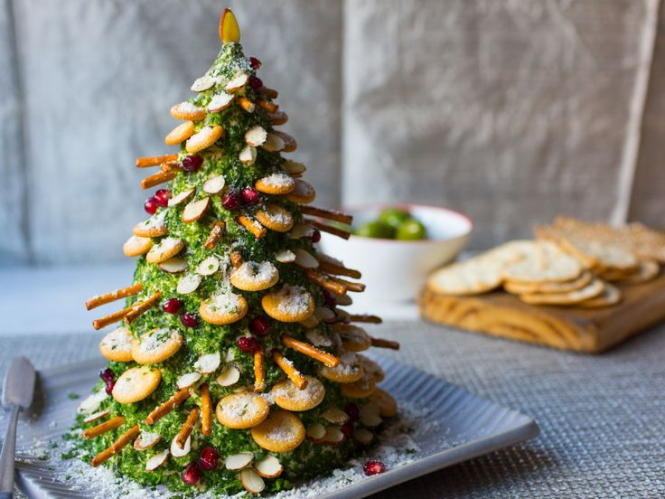1542 best christmas goodies images on pinterest holiday treats cheese and crackers christmas tree recipe from food network kitchen via food network forumfinder Choice Image