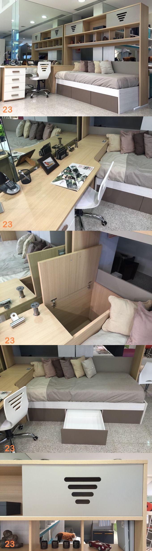 Muebles Juveniles alzada cama cabecera messina escritorio silla modulo camas-marineras-varones