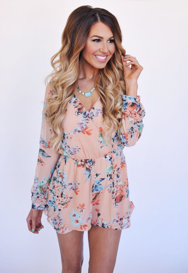 Really cute and love the length. Sometimes the shorts part of a romper is way too short.