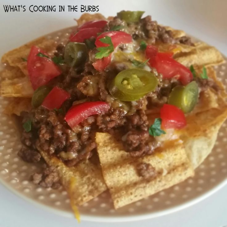 What's Cooking in the Burbs: Salsa Nachos