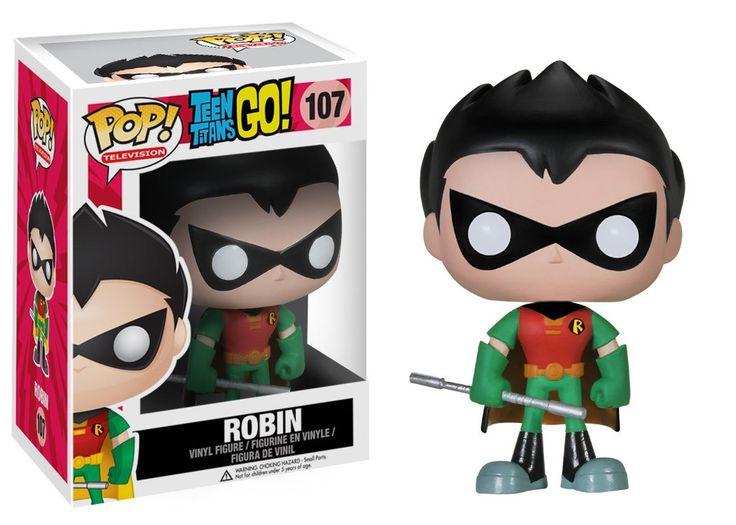 Funko POP! TV: Teen Titans Go! - Robin