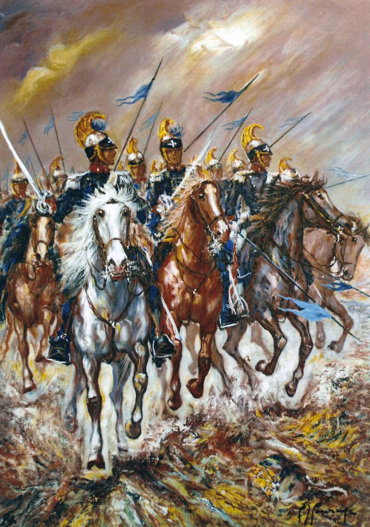 Charge of the Piedmontese Lancers
