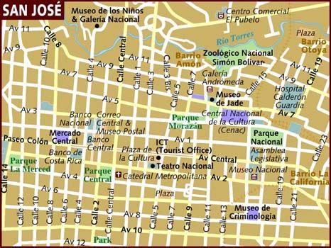 64 best COSTA RICA MAPS images on Pinterest Maps Costa rica and Cards