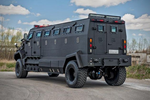 If the amount of zombie-proof vehicles hitting the market are any sign of what's to come, then we are all doomed. The latest model aimed at the post-apocal