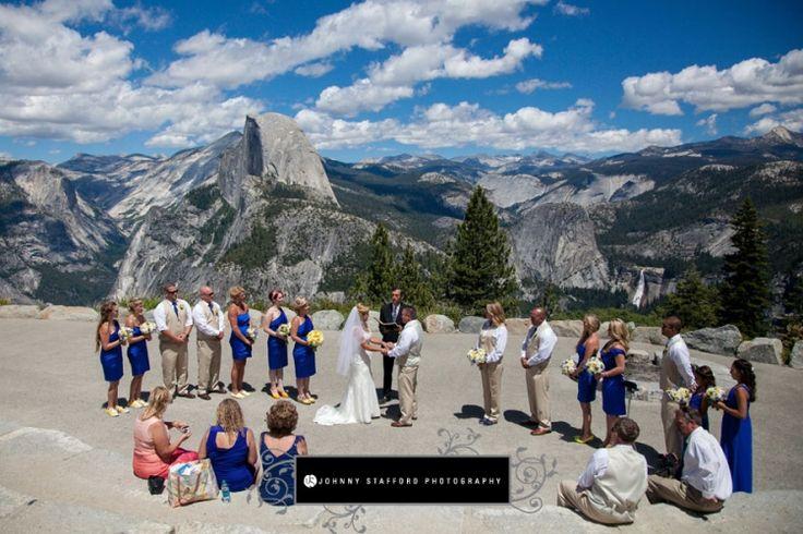 Tenaya Lodge & Glacier Point Yosemite Wedding - www.johnnystaffordphotography.com - www.addyrosedesign.com