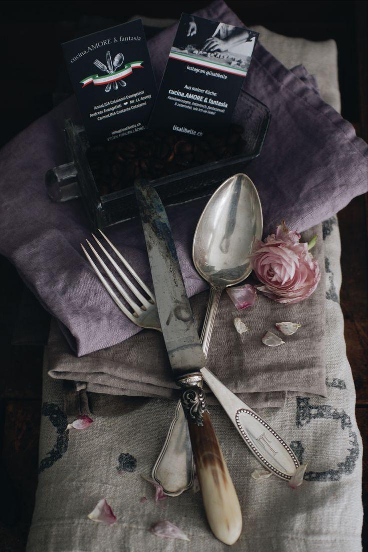 """DOLCE VITA zum Nachkochen! Ich nenne es """"cucina.AMORE & fantasia"""" - wir hätten diesem ausgelebten Italien-Gefühl und der Kreativität beim Essen ;) keinen besseren Namen geben können! Wer uns gut kennt bestätigt das überzeugt :)."""
