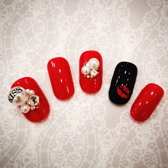 2016年バレンタインネイルは「赤」でキメる!本命の彼の心を狙い撃ちできる赤を使ったネイルデザイン | Jocee