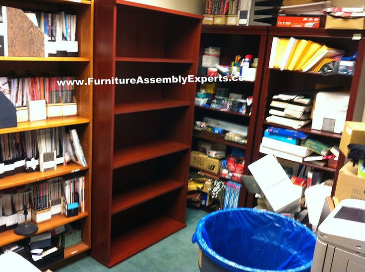 Bush Furniture Bookcase Assembled In Alexandria Va By Assembly Experts LLC