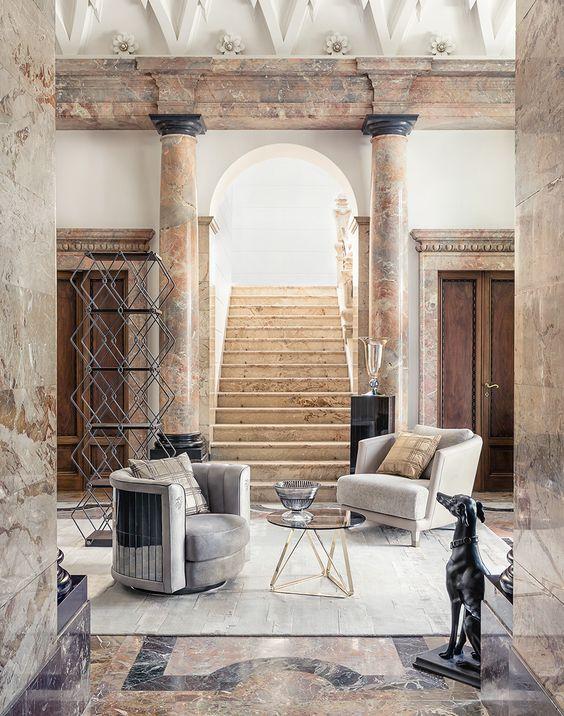 Les 24 meilleures images du tableau marbres sur pinterest for Villa mozart milano